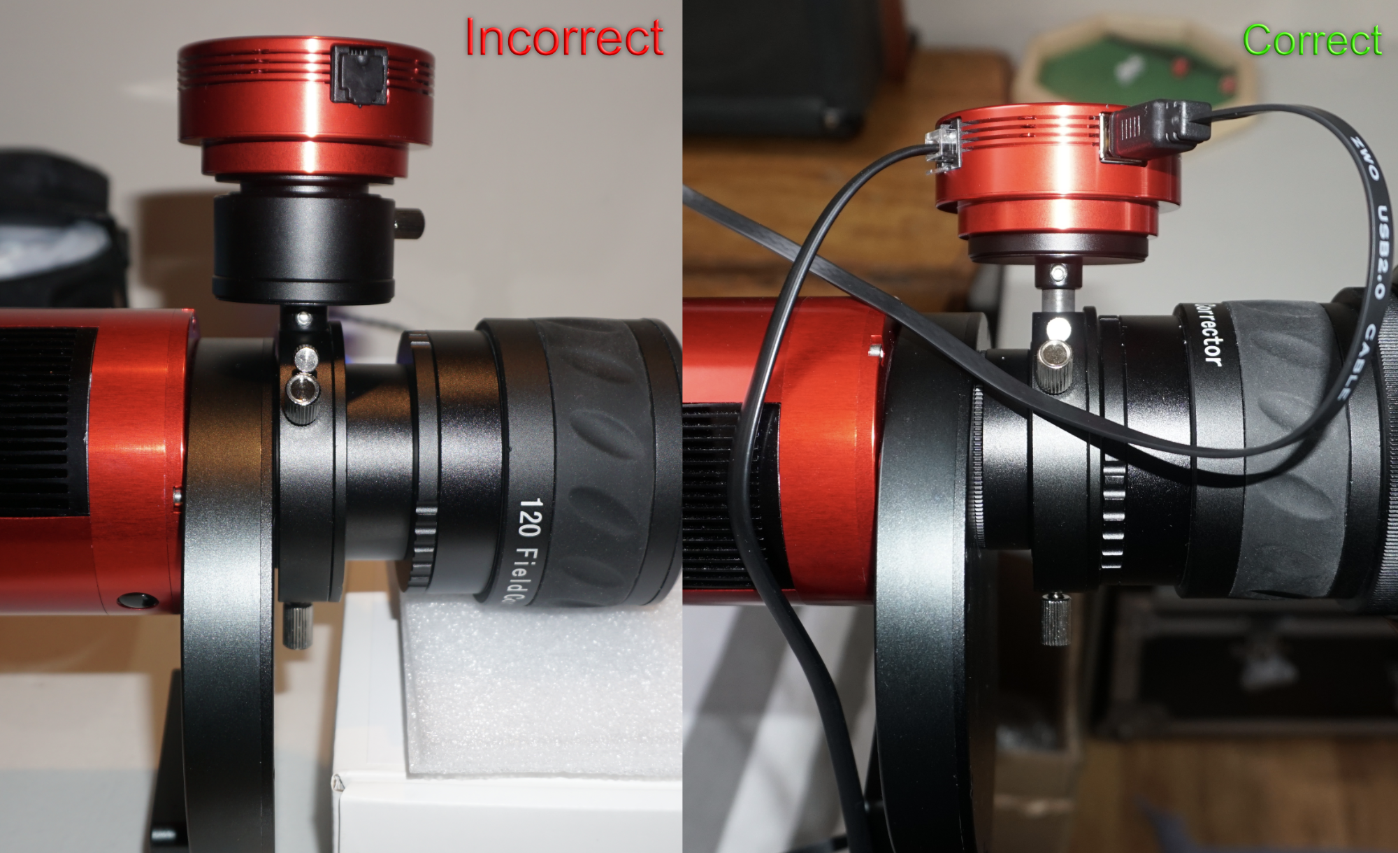 Comparing QHY5L-II to ZWO ASI120MM - Beginning and Intermediate
